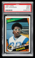 Eric Dickerson 1984 Topps #280 RC (PSA 9) (OC) at PristineAuction.com