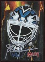 Felix Potvin Signed 1995-96 Pinnacle Masks #4 (JSA COA) at PristineAuction.com