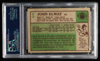 John Elway 1984 Topps #63 RC (PSA 8) (PD) at PristineAuction.com