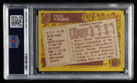 Steve Young 1986 Topps #374 RC (PSA 7) at PristineAuction.com