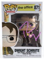 "Rainn Wilson Signed ""The Office"" #871 Dwight Schrute Funko Pop! Vinyl Figure (Beckett COA) (See Description) at PristineAuction.com"