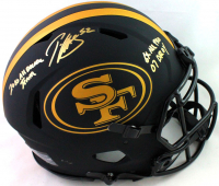 """Patrick Willis Signed 49ers Full-Size Authentic On-Field Eclipse Alternate Speed Helmet Inscribed """"6X All Pro, 07 ROY"""" & """"2010 All Decade Team"""" (Beckett COA) at PristineAuction.com"""
