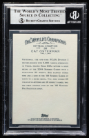 Cat Osterman Signed 2009 Allen & Ginter #290 (BGS Encapsulated) at PristineAuction.com