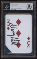 """Henry Hill Signed """"The Orleans Casino"""" Playing Card (BGS Encapsulated) at PristineAuction.com"""