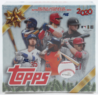 2020 Topps Holiday Mega Box with (10) Packs at PristineAuction.com