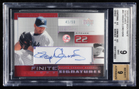 Roger Clemens 2003 Upper Deck Finite Signatures #RC (BGS 9) at PristineAuction.com
