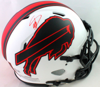 Stefon Diggs Signed Bills Full-Size Authentic On-Field Lunar Eclipse Alternate Speed Helmet (Beckett COA) at PristineAuction.com