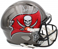 Simeon Rice Signed Buccaneers Full-Size Authentic On-Field Speed Helmet (Radtke COA) at PristineAuction.com