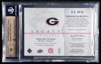 Herschel Walker 2012 Exquisite Collection Legacy Signatures #ELHW (BGS 9.5) at PristineAuction.com