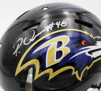 Patrick Queen Signed Ravens Full-Size Authentic On-Field Speed Helmet (Fanatics Hologram) at PristineAuction.com