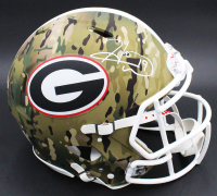 Hines Ward Signed Georgia Bulldogs Full-Size Authentic On-Field Camo Alternate Speed Helmet (Fanatics Hologram) at PristineAuction.com