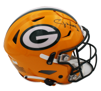 Clay Matthews III Signed Packers Full-Size Authentic On-Field SpeedFlex Helmet (Radtke COA) at PristineAuction.com
