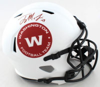 Terry McLaurin Signed Washington Full-Size Lunar Eclipse Alternate Speed Helmet (Beckett Hologram) at PristineAuction.com