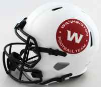 """Terry McLaurin Signed Washington Full-Size Lunar Eclipse Alternate Speed Helmet Inscribed """"Scary Terry"""" (Beckett Hologram) at PristineAuction.com"""