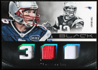 Tom Brady 2012 Panini Black Stat Line Materials #1 at PristineAuction.com