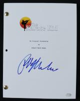 "Ralph Macchio Signed ""The Karate Kid"" Movie Script (ACOA COA) at PristineAuction.com"