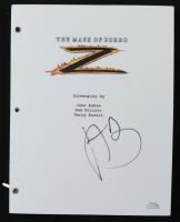 """Antonio Banderas Signed """"The Mask of Zoro"""" Full Script (AutographCOA COA) (See Description) at PristineAuction.com"""