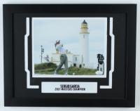 Sergio Garcia Signed 14x18 Custom Framed Photo Display (JSA COA) at PristineAuction.com