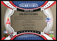 Nolan Ryan 2007 Sweet Spot Classic Signatures Red Stitch Gold Ink #SPSNR at PristineAuction.com