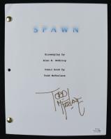 """Todd McFarlane Signed """"Spawn"""" Movie Script (AutographCOA COA) (See Description) at PristineAuction.com"""