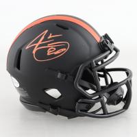 Jarvis Landry Signed Browns Eclipse Alternate Speed Mini Helmet (Beckett COA) (See Description) at PristineAuction.com
