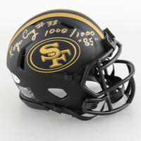 "Roger Craig Signed 49ers Eclipse Alternate Speed Mini Helmet Inscribed ""1000 / 1000 ""85"""" (Beckett COA) (See Description) at PristineAuction.com"