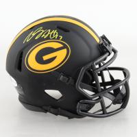 Davante Adams Signed Packers Eclipse Alternate Speed Mini Helmet (Beckett COA) (See Description) at PristineAuction.com
