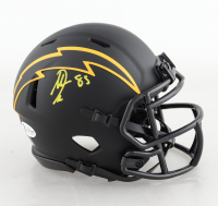 Antonio Gates Signed Chargers Eclipse Alternate Speed Mini Helmet (Beckett COA) at PristineAuction.com