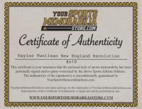 Taylor Twellman Signed Revolution 8x10 Photo (YSMS COA) at PristineAuction.com