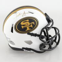 Frank Gore Signed 49ers Lunar Eclipse Alternate Speed Mini Helmet (Beckett COA) (See Description) at PristineAuction.com