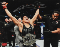 Amanda Nunes Signed UFC 8x10 Photo (YSMS COA) at PristineAuction.com