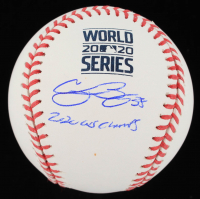 """Cody Bellinger Signed 2020 World Series Baseball Inscribed """"2020 WS Champs"""" (MLB Hologram) at PristineAuction.com"""