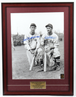 Ted Williams & Bobby Doerr Signed 20x26 Custom Framed Photo Display (Williams COA) at PristineAuction.com