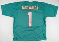 Tua Tagovailoa Signed Jersey (Beckett COA) at PristineAuction.com