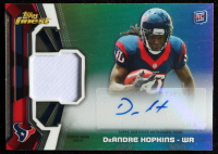 DeAndre Hopkins 2013 Finest Rookie Patch Autographs Refractors Glove #RAPDH at PristineAuction.com