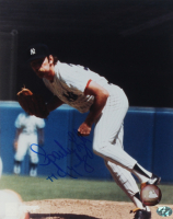 "Sparky Lyle Signed Yankees 8x10 Photo Inscribed ""77 Cy Young"" (YSMS COA) at PristineAuction.com"
