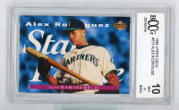 Alex Rodriguez 1995 Upper Deck #215 RC (BCCG 10) at PristineAuction.com