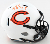 "Brian Urlacher Signed Bears Full-Size Lunar Eclipse Alternate Speed Helmet Inscribed ""HOF 2018"" (Beckett COA) (See Description) at PristineAuction.com"