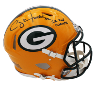 "Clay Matthews III Signed Packers Full-Size Authentic On-Field Speed Helmet Inscribed ""SB XLV Champs"" (Radtke COA) at PristineAuction.com"