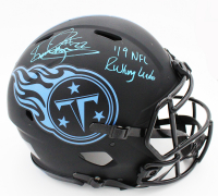 """Derrick Henry Signed Titans Full-Size Authentic On-Field Eclipse Alternate Speed Helmet Inscribed """"'19 NFL Rushing Leader"""" (Fanatics Hologram) at PristineAuction.com"""