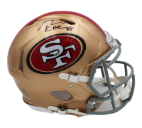 George Kittle Signed 49ers Full-Size Authentic On-Field Speed Helmet (Radtke COA) at PristineAuction.com