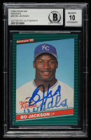 Bo Jackson Signed 1986 Donruss Rookies #38 XRC (BGS Encapsulated) at PristineAuction.com
