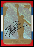Michael Jordan 1997 Fleer Premier Prizm Refractor 23Kt Gold Card at PristineAuction.com