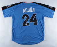 Ronald Acuna Jr. Signed World All-Star Game Jersey (JSA COA) at PristineAuction.com