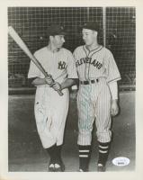 Joe DiMaggio & Bob Feller Signed 8x10 Photo (JSA LOA) at PristineAuction.com