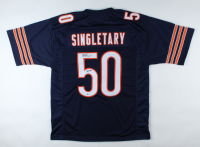 """Mike Singletary Signed Jersey Inscribed """"HOF 98"""" (Beckett Hologram) at PristineAuction.com"""