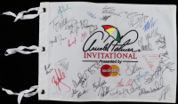 Arnold Palmer Invitational Pin Flag Signed by (39) with Corey Pavin, Stuart Appleby, Mark Wilson, Richard Sterne, Scott Verplank (Beckett LOA) at PristineAuction.com