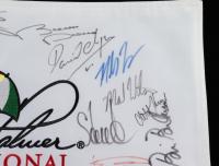 Arnold Palmer Invitational Pin Flag Signed by (39) with Corey Pavin, Stuart Appleby, Mark Wilson, Richard Sterne, Scott Verplank (Beckett LOA) at PristineAuction.com