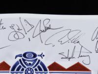 FBR Open TPC Scottsdale Pin Flag Signed by (35) with Luke Donald, Hal Sutton, David Toms, Jon Haas, Jesper Parnevik (Beckett LOA) at PristineAuction.com