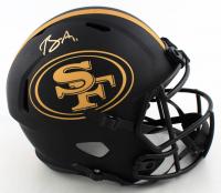 Brandon Aiyuk Signed 49ers Full-Size Eclipse Alternate Speed Helmet (Beckett COA) (See Description) at PristineAuction.com